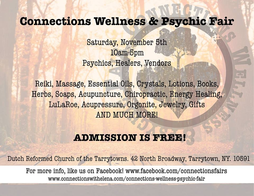 Connections Wellness & Psychic Fair | Connections with Elena